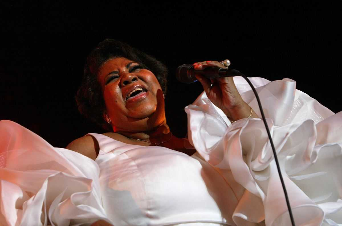 That time Aretha Franklin called the L.A. Times to explain what 'TCB' from 'Respect' means