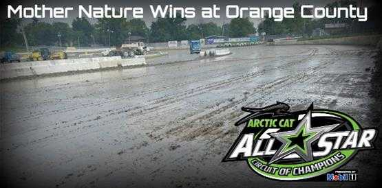 Mother Nature wins at Orange County Fair Speedway; All Stars lose two in a row