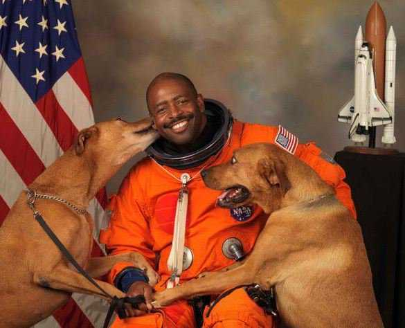 This Astronaut Famously Included His Dogs in His NASA Portrait—and Now He Has a New Puppy You Have to Meet
