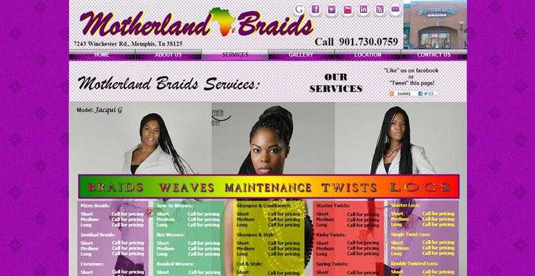 Services at Motherland Braids