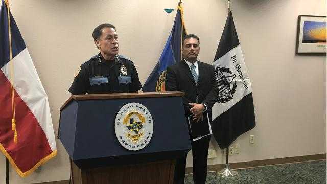 El Paso police chief on investigation into officer