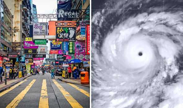 DEVELOPING: Super Typhoon Mangkhut on collision course with Hong Kong