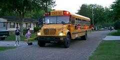 The Abington Police would like to remind you to please pay attention to school bus warnings!! from Abington Police Department : Nixle