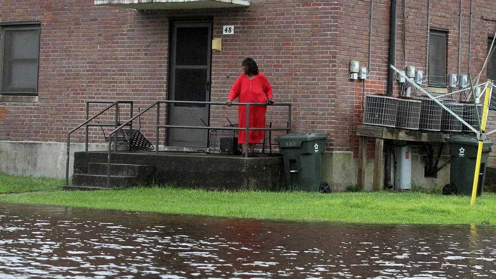 Around 150 people in need of rescue in N. Carolina City