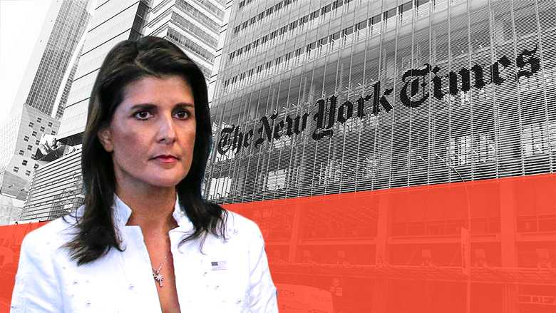 New York Times amends report that improperly pinned pricey curtains on Nikki Haley