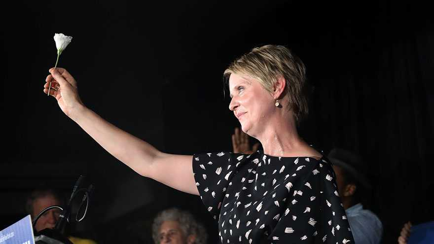 NY SAYS NO: Cynthia Nixon Blames 'EXTREMELY HIGH TURNOUT' for Election Disaster