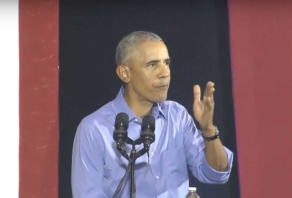 Obama Delivers Fiery Rebuke of 'Demagogues' at Rally: 'Bigots' and 'Fear Mongers' are Exploiting U.S. History