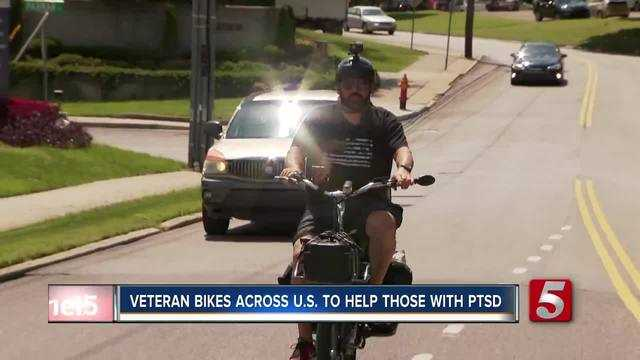 Veteran Rise Across U.S. For Soldiers With PTSD