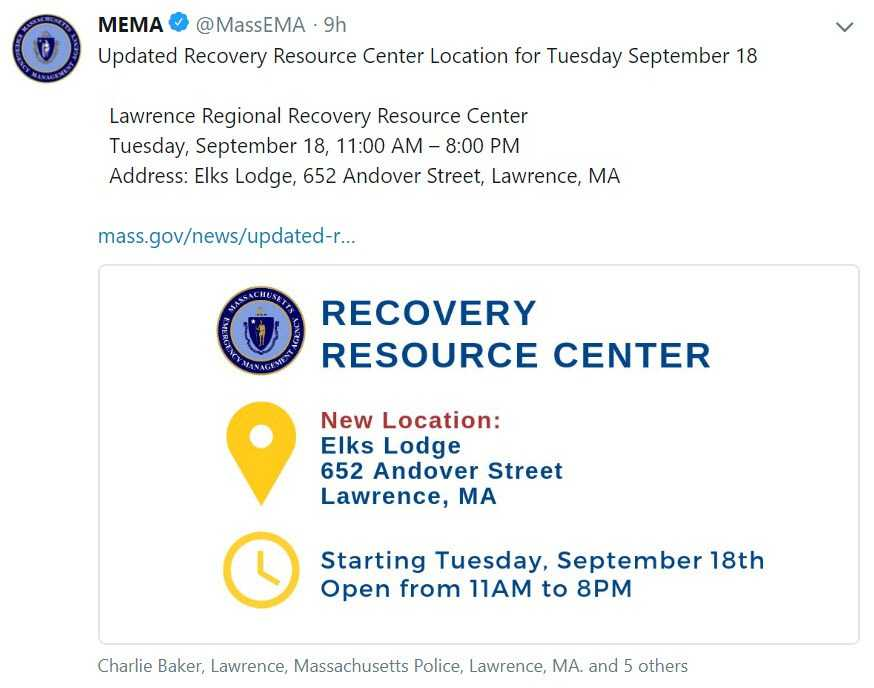Last, But Not Least: Resources To Help Out Those Affected In Merrimack Valley