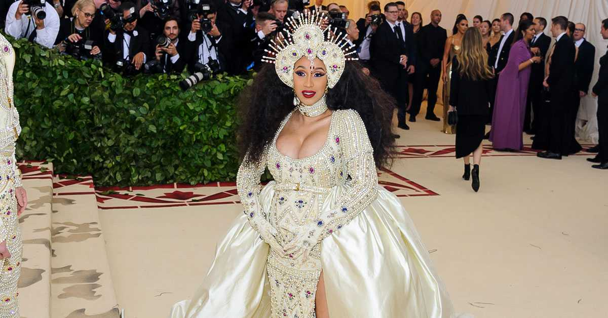 Cardi B Debuts Wedding Photo to Celebrate Her Anniversary