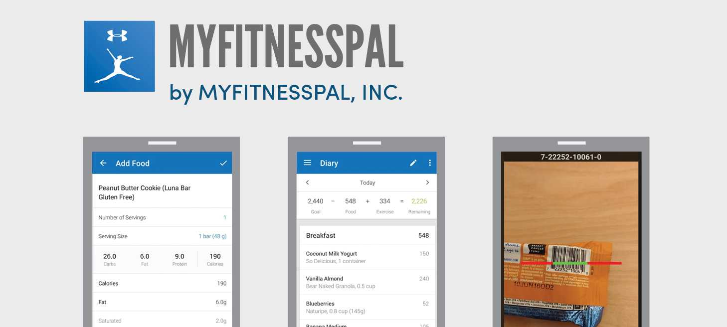 Apps and podcasts we love: MyFitnessPal