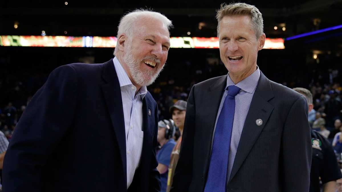 Steve Kerr, Nate McMillan, Jay Wright to join Gregg Popovich's USA Basketball staff