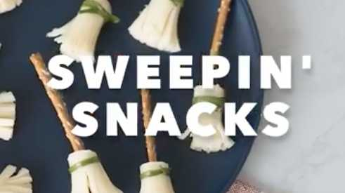 Snacktivity: Broomstick Party Snacks