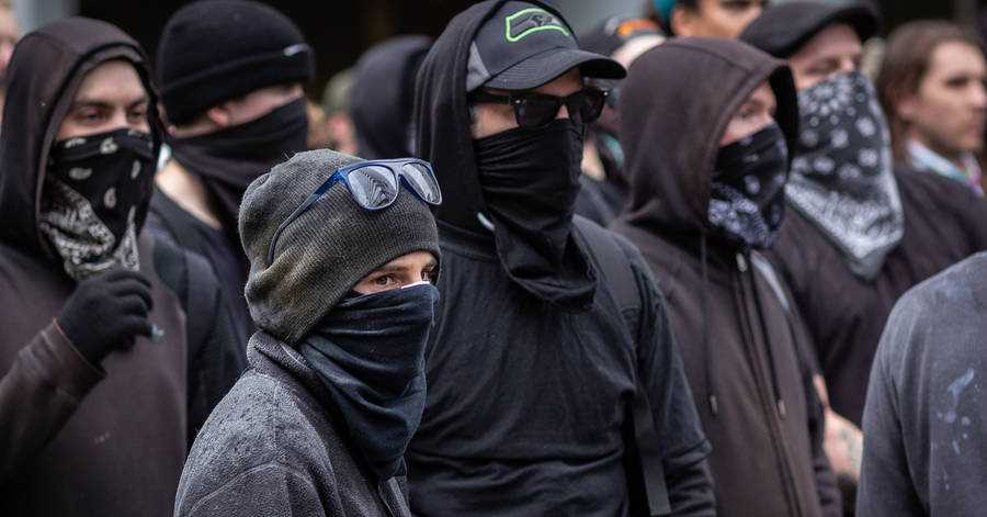 A Leftist Mob 'Polices' Portland