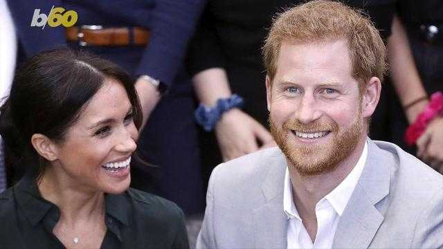 Meghan Markle expecting first child with Harry