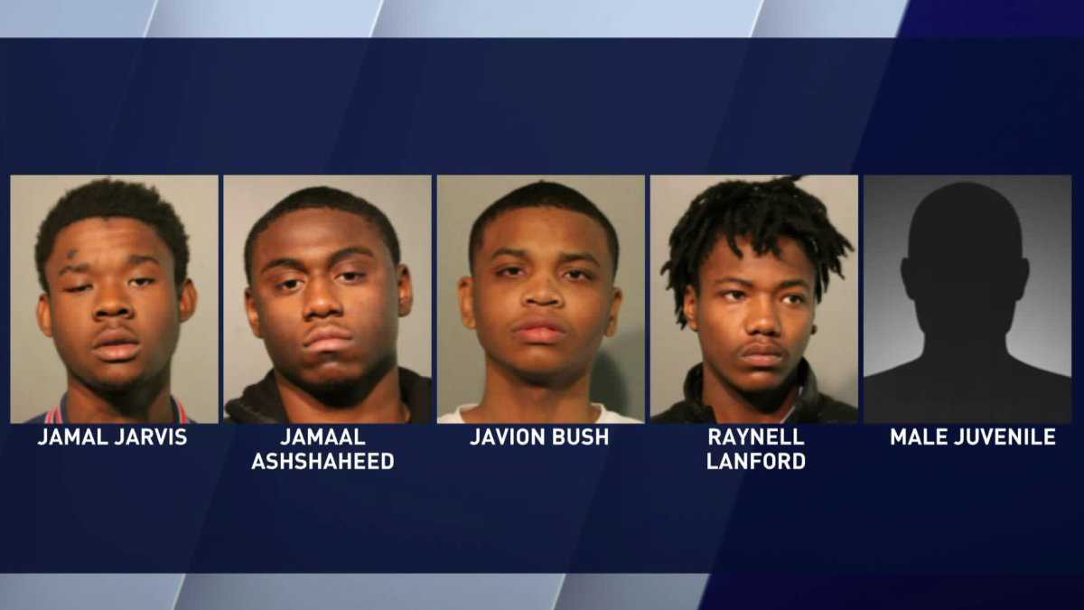 5 teens charged in armed carjacking on Far North Side