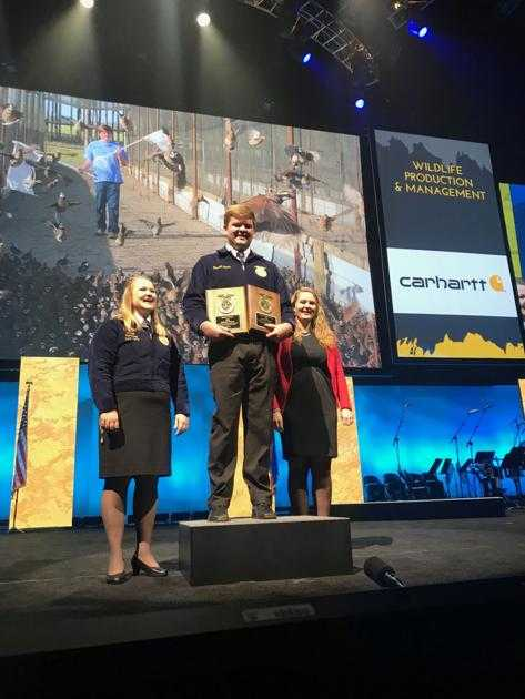 Colquitt County FFA'er is national champion