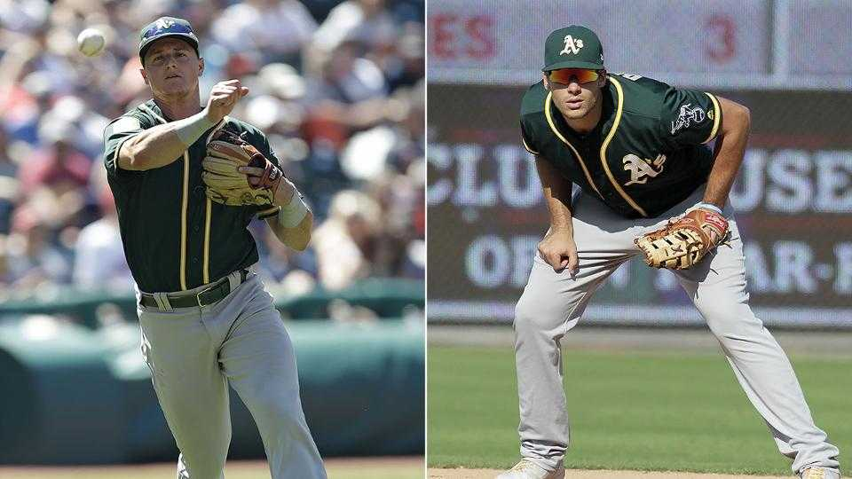 Matt Chapman, Matt Olson win Gold Gloves