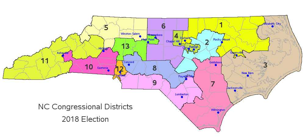 Enhancing a congressional district map