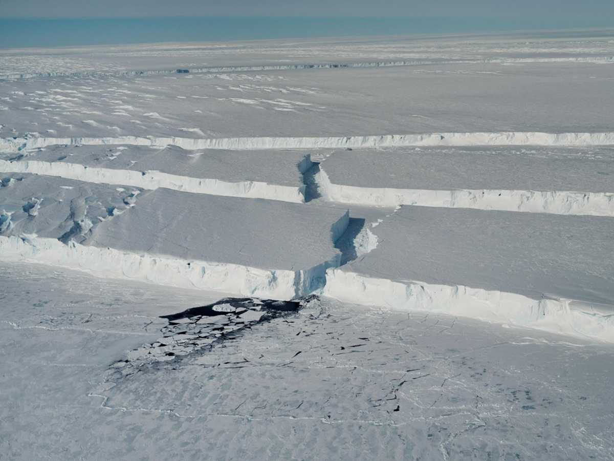 Exclusive photos: A giant iceberg breaks off Antarctica