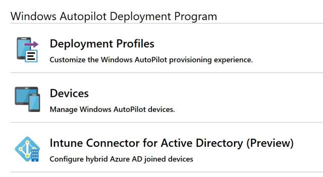 Hybrid Azure AD join Windows Autopilot devices using Microsoft Intune
