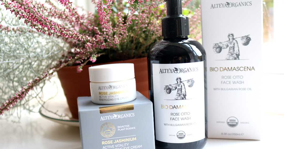 Active Vitality Energizing Eye Cream & Rose Otto Face Wash review