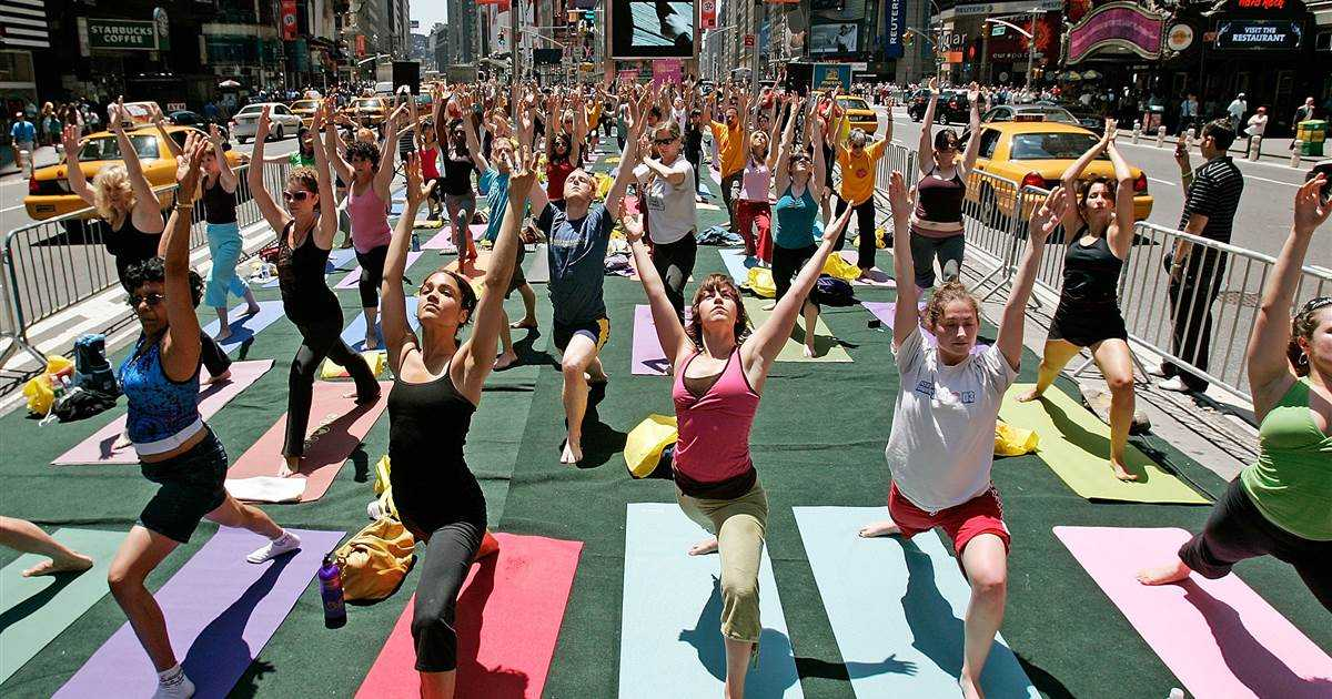 More U.S. adults and kids are doing yoga, meditating