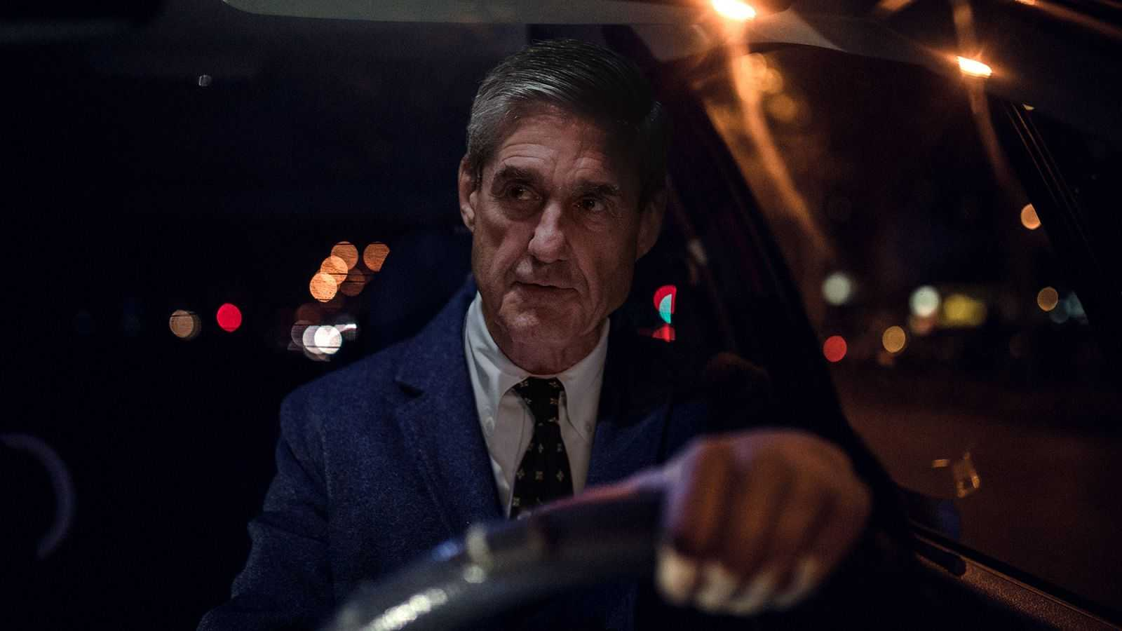 Mueller Annoyed By Dipshit Protestors Holding Up Traffic During Commute