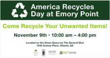 America Recycles Day at Emory Point