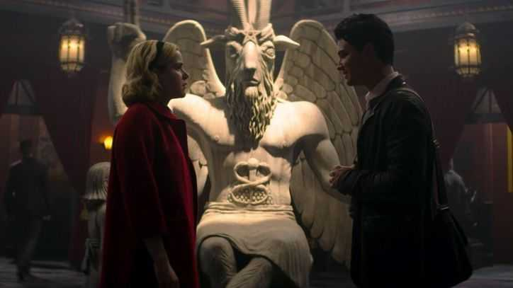 Netflix sued over goat-headed deity in Sabrina series