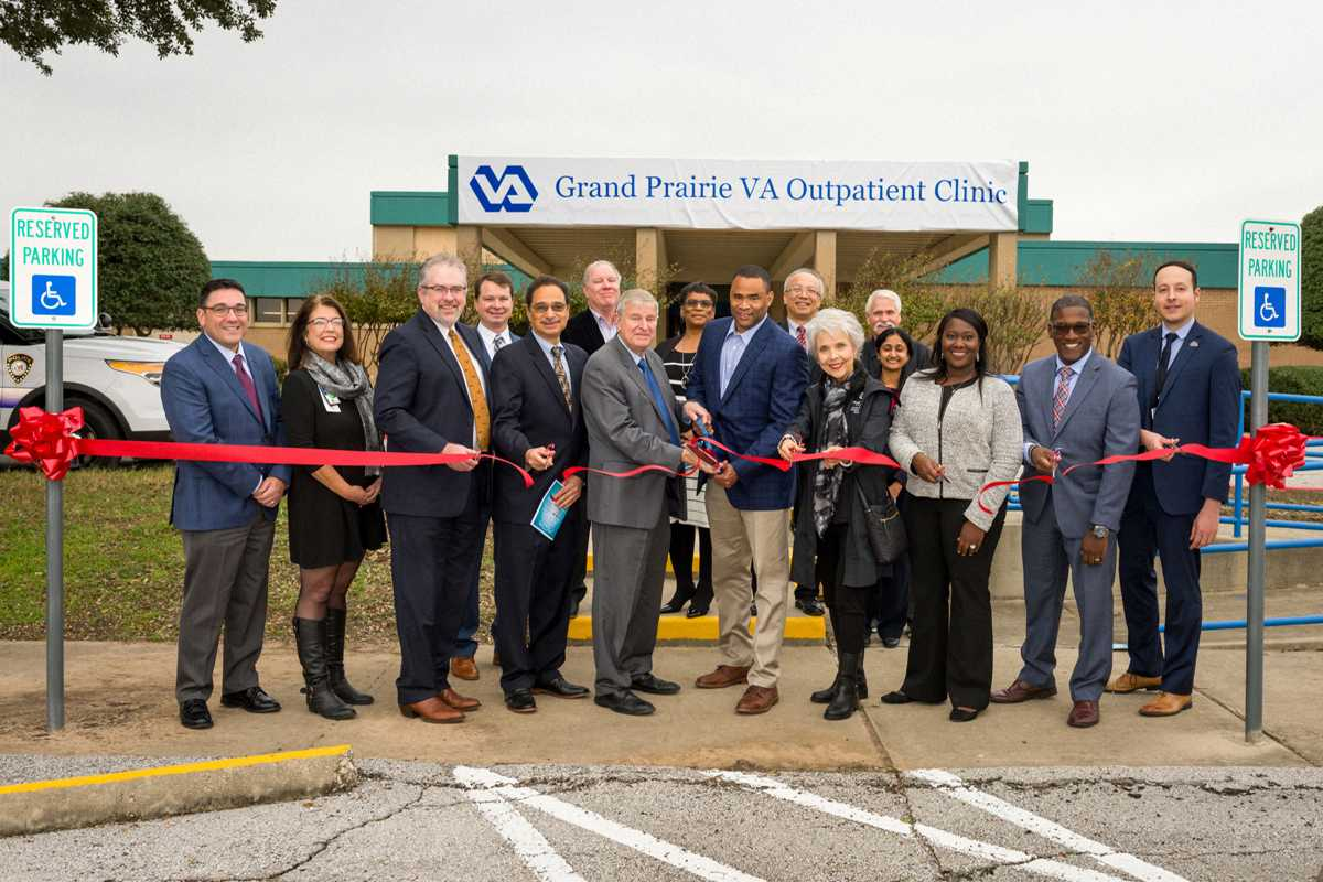 Texas community, 13,000 Veterans, welcome new VA Clinic
