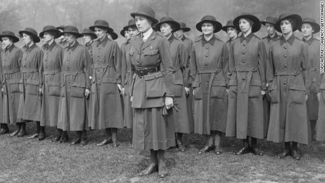 The mighty women of World War I