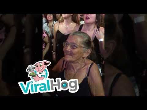VIDEO: This Grandma Is Living Her Best Life At A Concert