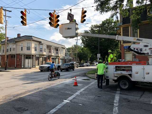 Cleveland recommends not using traffic pattern on Franklin Boulevard tested over the summer