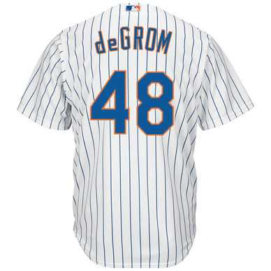 New York Mets Youth Jacob deGrom Replica Home Jersey