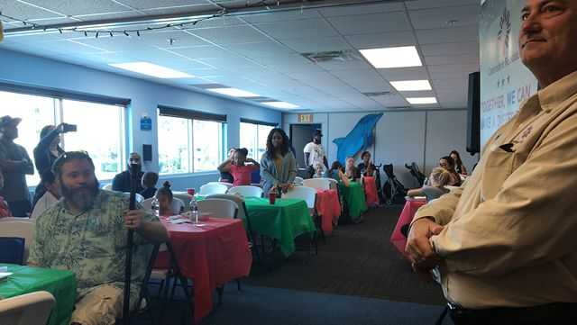 Clearwater Marine Aquarium Hosts Fun Day for Military Families