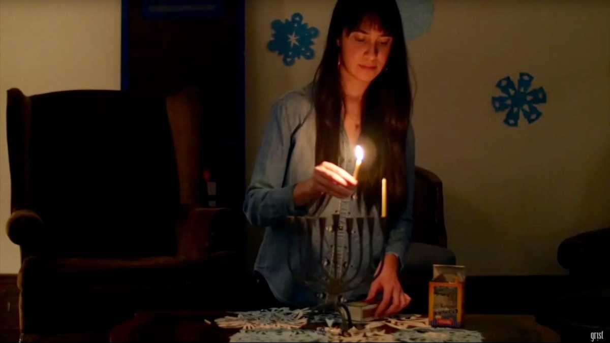Let us explain how Hanukkah is the festival of fossil fuel conservation
