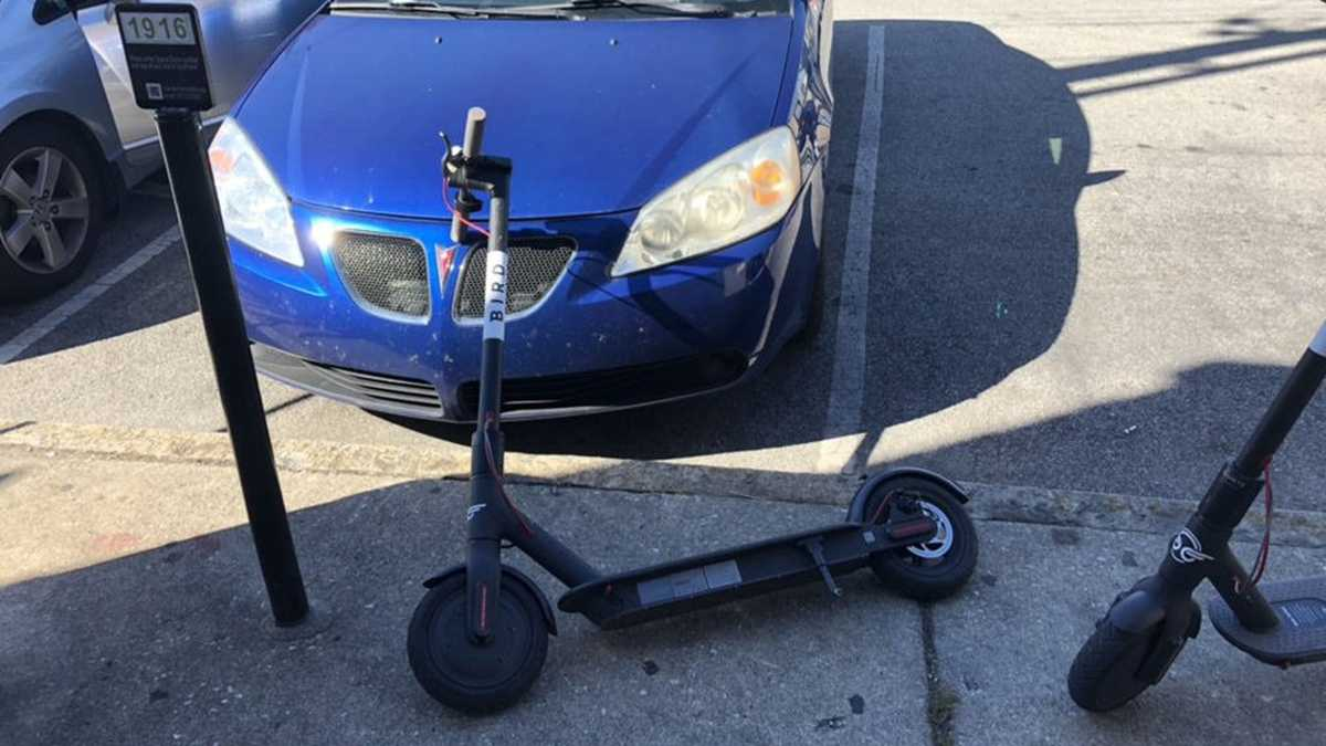 A scooter caused $460 of damage to a car. Bird will only pay for a fraction of repairs.