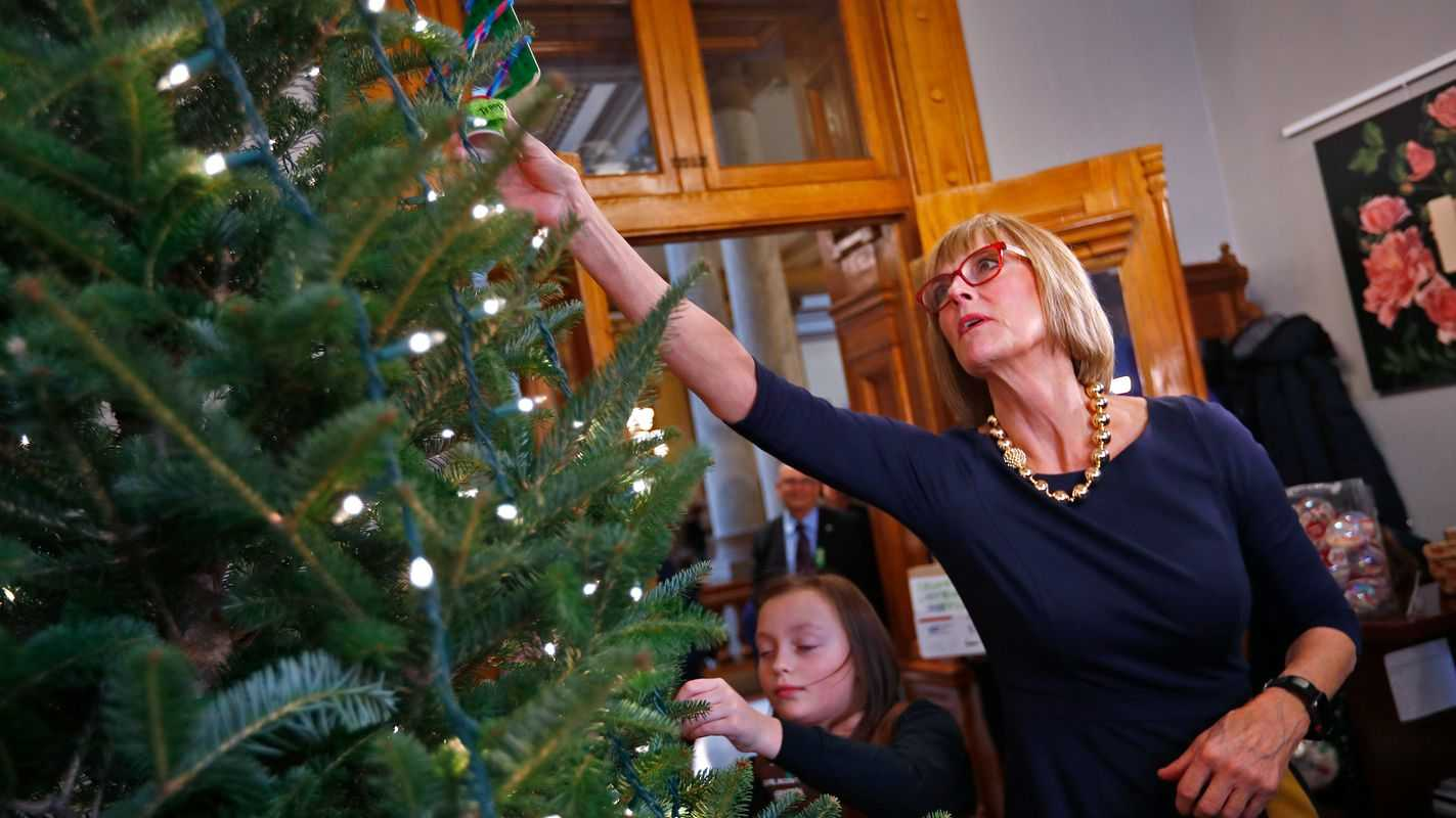 Girl Scouts' ornaments bring festive flair to Statehouse tree
