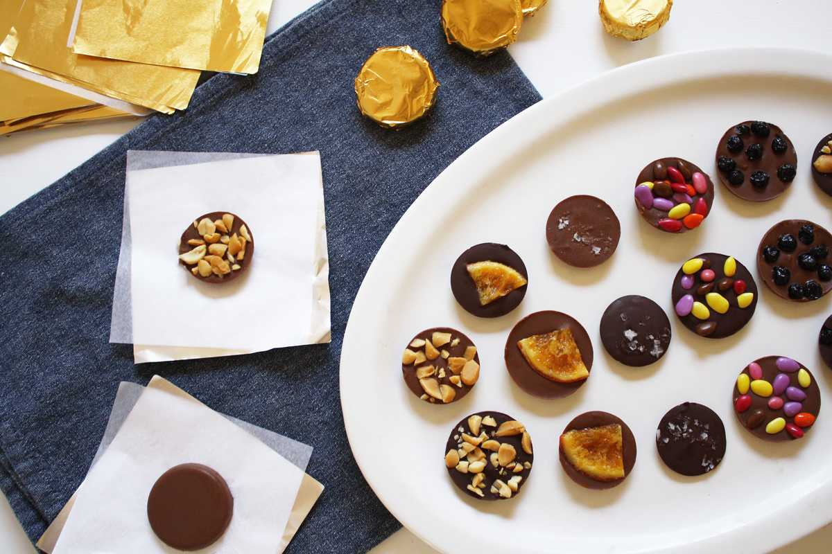 Win Hanukkah With Homemade Chocolate Gelt