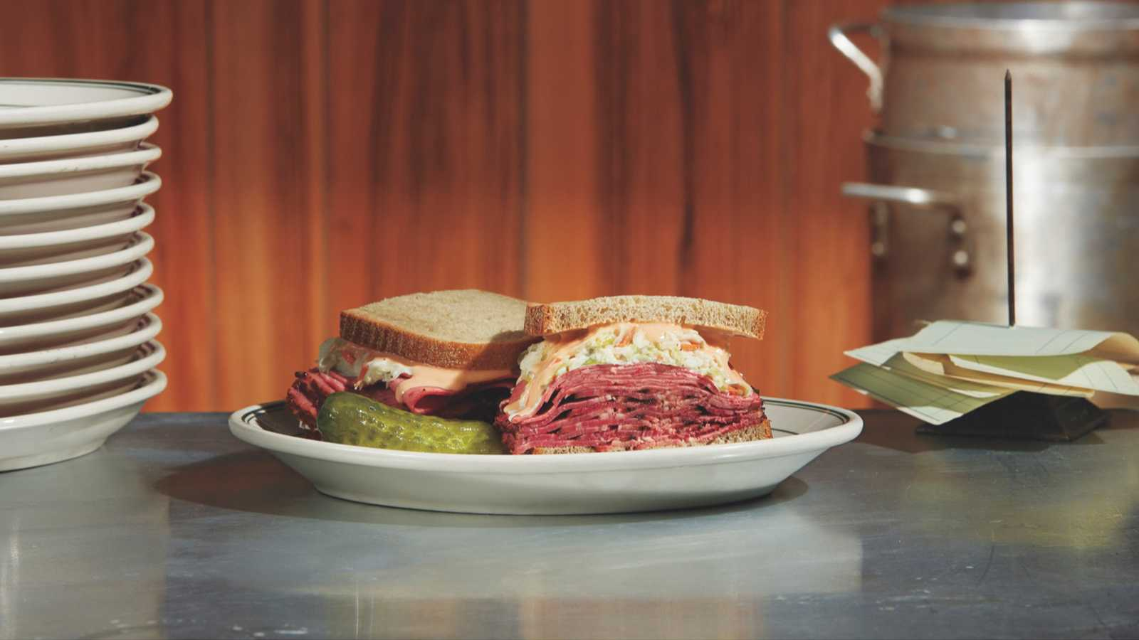 Jewish Delis Are Serving Up a 'Marvelous Mrs. Maisel' Inspired Pastrami Sandwich