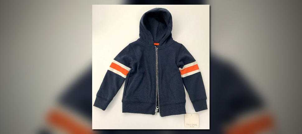 Meijer recalls children's hoodies due to possible choking hazard