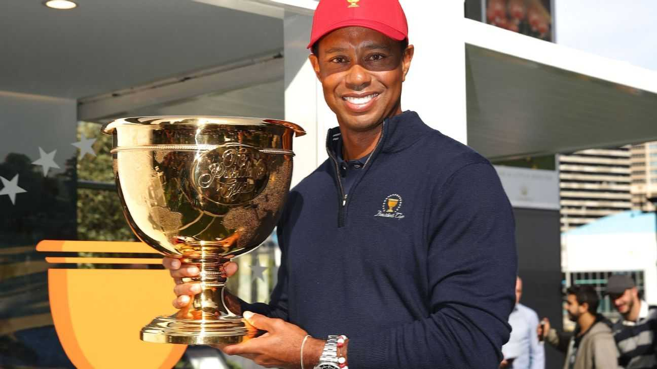 Tiger eyes playing role in Presidents Cup