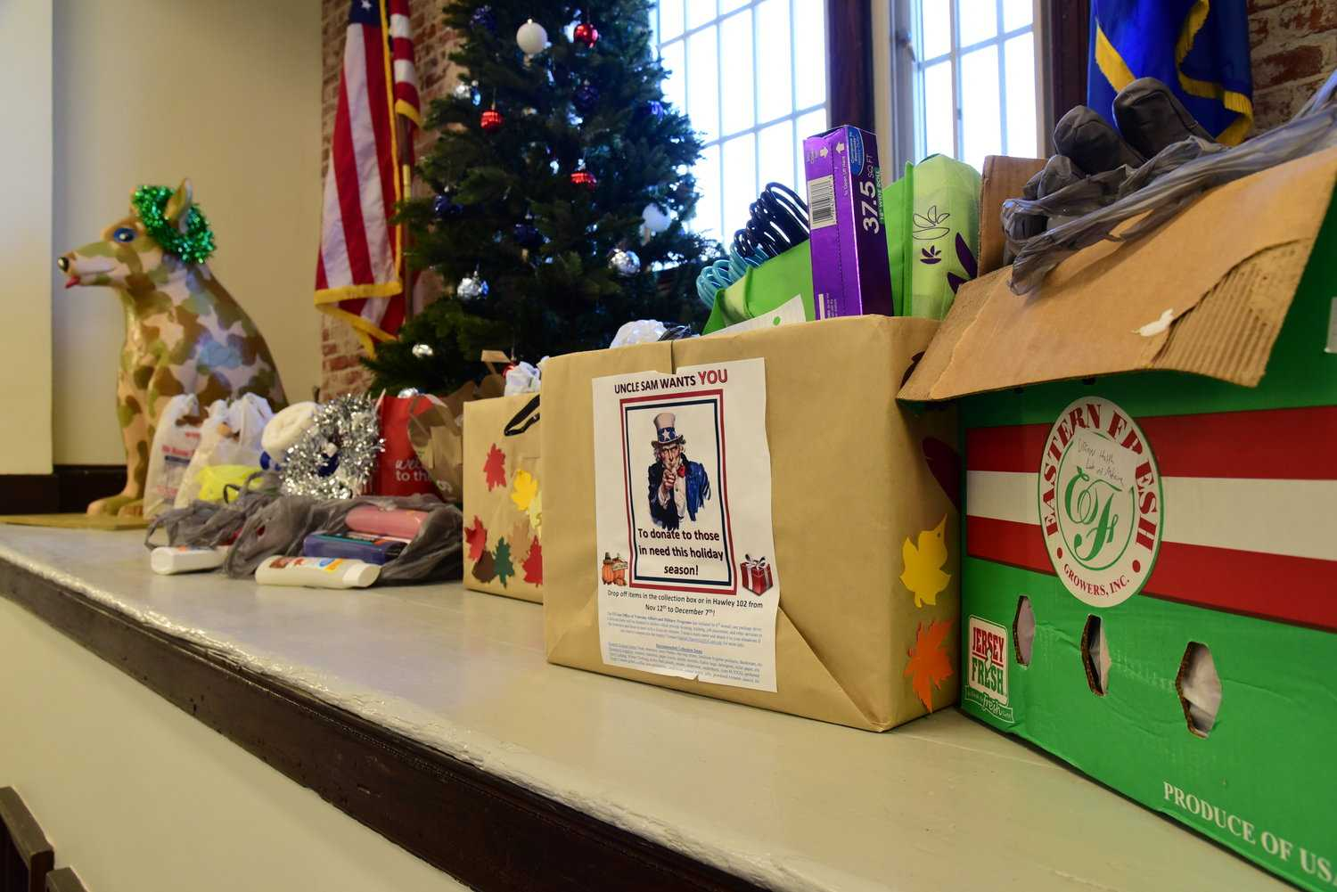 UConn gives back to veterans over holiday season with care package drive