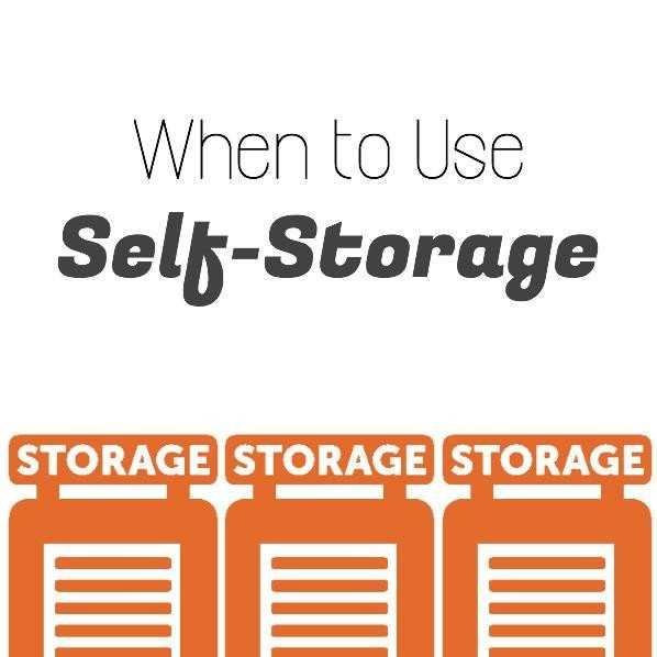 When To Use Self-Storage