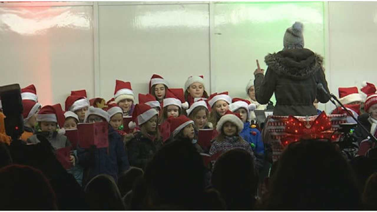 Annual Caroling on the Green held West Springfield