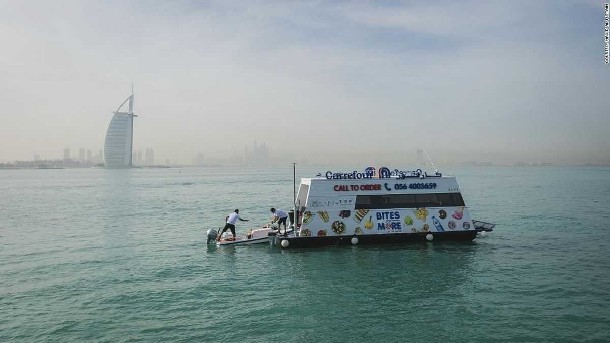 Dubai launches sail-thru supermarket