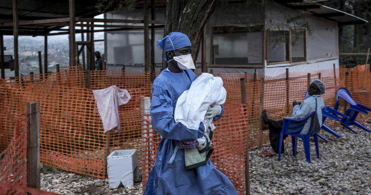 Ebola spreads to major Congo city amid worries over vaccine supply