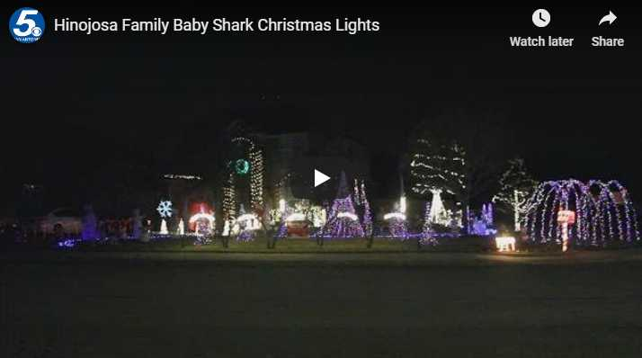 "Family Syncs Their Christmas Lights To ""Baby Shark"" (VIDEO)"