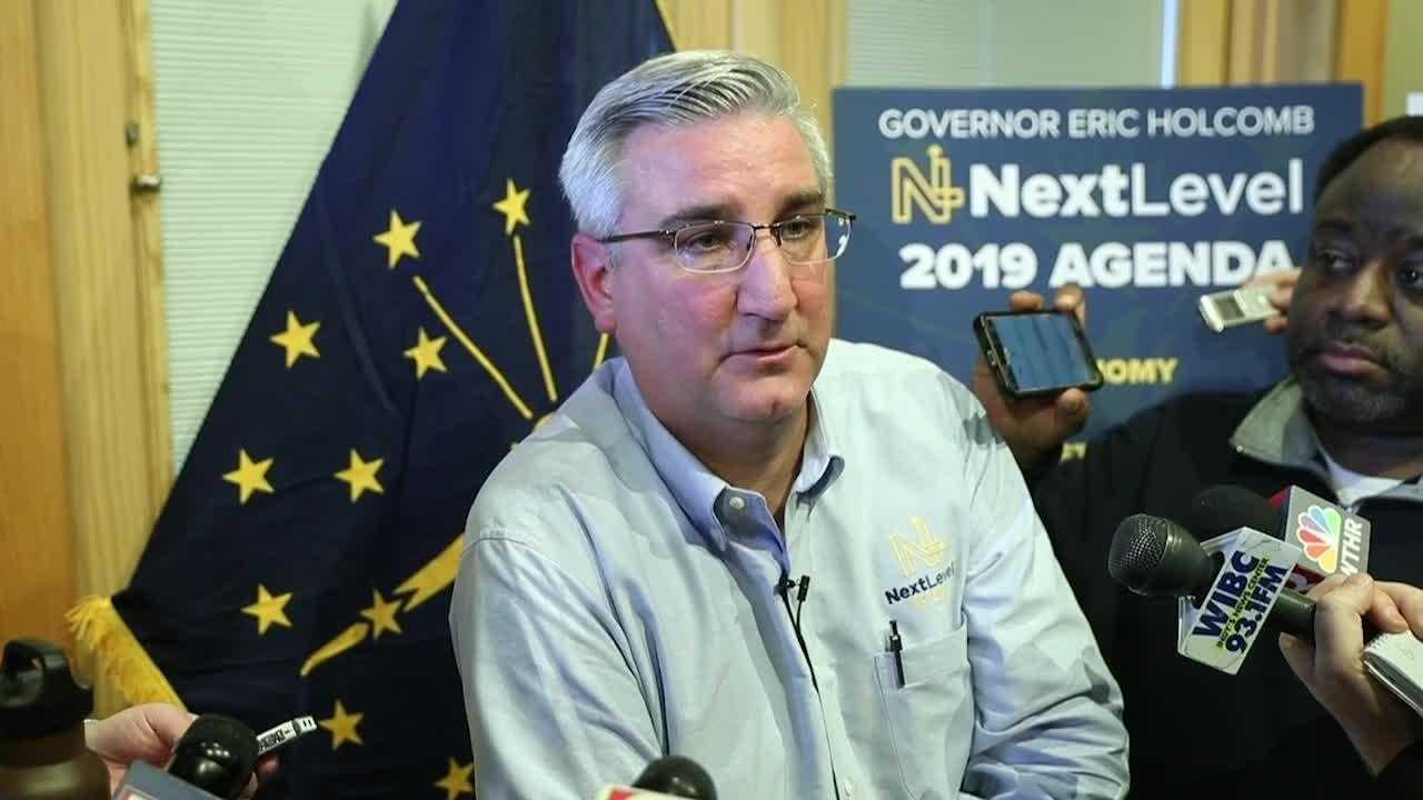 Here are some of Gov. Eric Holcomb's plans for school safety and hate crimes law